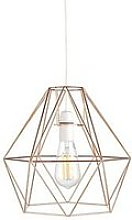 Harlow Large Copper Diamond Easy Fit Shade