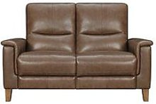 Harlow Leather 2 Seater Power Recliner Sofa