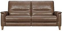 Harlow Leather 3 Seater Power Recliner Sofa