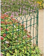 Harness PVC Garden Border Fencing 10 x 0.25 m Sol