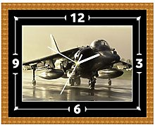 Harrier Jump Jet RAF Clock Gift Present Christmas