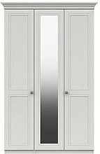 Harris Part Assembled 3 Door Mirrored Wardrobe