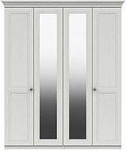 Harris Part Assembled 4 Door Mirrored Wardrobe