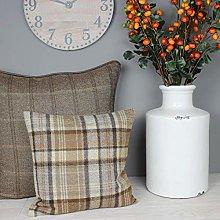 Harrison Cropper Autumn Camel Tweed Wool Cushion