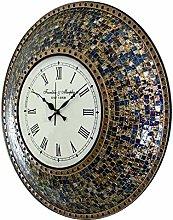 Harrow Decor Large Mosaic Wall Clock 23''