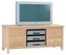Harrow Oak Large TV Cabinet Fully Assembled