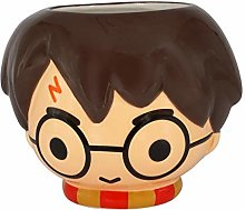 Harry Potter Head Ceramic Mug Novelty drinkware, Standard, Multi Color
