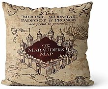 Harry Potter Morden Map Hugging Cushion Digital