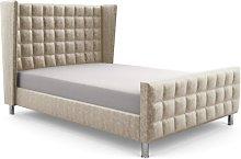 Hart Bridgeholme Upholstered Bed Frame Canora Grey