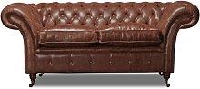 Hartington 2 Seater Chesterfield Sofa Rosalind