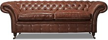 Hartington 3 Seater Chesterfield Sofa Rosalind