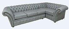 Hartshorne Chesterfield Leather Corner Sofa