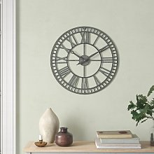 Harva 61cm Wall Clock Borough Wharf