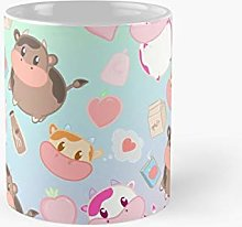 Harvest Moon Assorted Cows Pastel Rainbow Classic