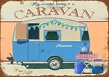 Harvesthouse My Second Home Is a Caravan Metal