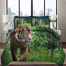 HARXISE Bedding Duvet Cover Set Tiger College