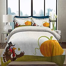 HARXISE Bedding Duvet Cover Set Turkey Chic Home