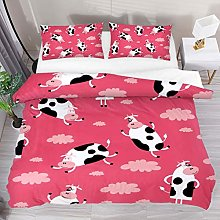 HARXISE Funny Cow Cartoon Animal Cloud Pattern