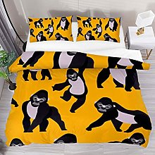 HARXISE Gorillas Animal Pattern Bedding Duvet