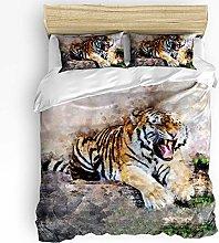 HARXISE Wildlife Animal Duvet Cover Sets, Soft and