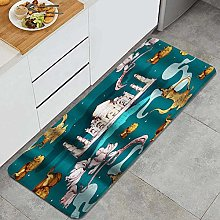 HASENCIV Floor Mat,East with taj Mahal and Antique