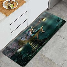 HASENCIV Floor Mat,Elf with Wing Fairy