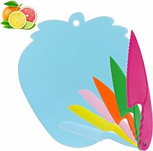 Hasidi Kids Kitchen Knife Set and Cutting Board,
