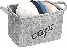 Hat Storage Bin, Sports Caps Organiser Basket,