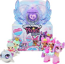 Hatchimals CollEGGtibles Pixies Riders Shimmer