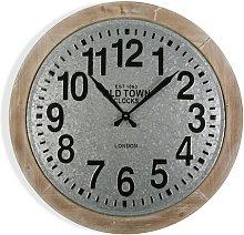 Hatton 70cm Silent Wall Clock Borough Wharf