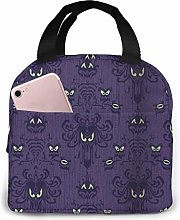 Haunted Mansion Lunch Bag Cooler Bag Women Tote