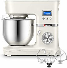 Hauswirt Stand Mixer, Food Mixer, 5L Stainless
