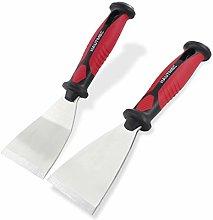 HAUTMEC Pack of 2 Putty Knife Scraper, 2.5 Inch