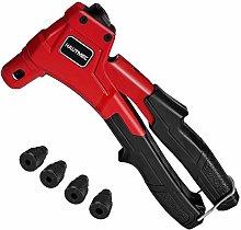 HAUTMEC Rivet Gun, 4 in 1 Hand Riveter HT0087-UK