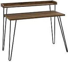 Haven Retro Desk - Walnut