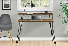 Haven Retro Home Office Study Computer Desk with