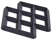 HAY - Rhom Trivet - charcoal - Charcoal