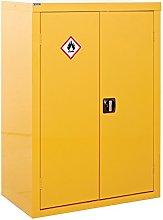 Hazardous Storage CoSHH Cabinet - 1800x1200x460mm