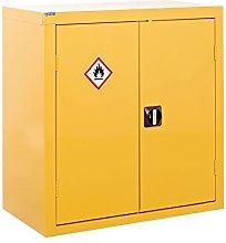 Hazardous Storage CoSHH Cabinet - 900x900x460mm -