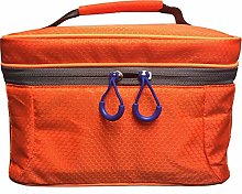 HB-101 New Orange Polyester Lunch Box Bag