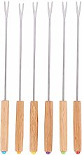 Hbaebdoo Steel Chocolate Fork Hot Pot Forks Cheese