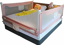 HBIAO Bed Rail Guard for Kids, Extra Long Baby Bed