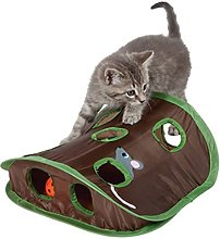 HBIN Pet Cats Mice Game Intelligence Toy Bell Tent