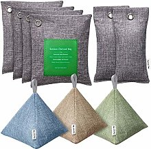 HBselect 9 Pack Air Purifying Bags, Bamboo Fresh