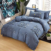 Hbvvaceo® Bedding Set 3D Cartoon starry moon