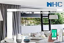 HC DIY 4-Meter Remote Control Electric Curtain