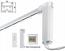 HC DIY 7-Meter Remote Control Electric Curtain