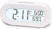 HCCTOZZ Alarm Clock, Digital Alarm Clock for Desk