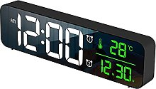 HCCTOZZ Alarm Clock, Digital Alarm Clock, Music