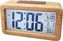 HCCTOZZ Alarm Clock,Digital Clock Easy Use Clock